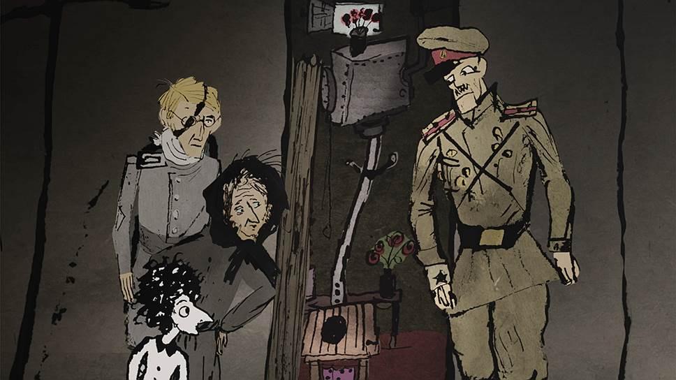 «Резо» Лео Габриадзе показывает реалии послевоенного Батуми, соединяя с документальным комментарием анимацию