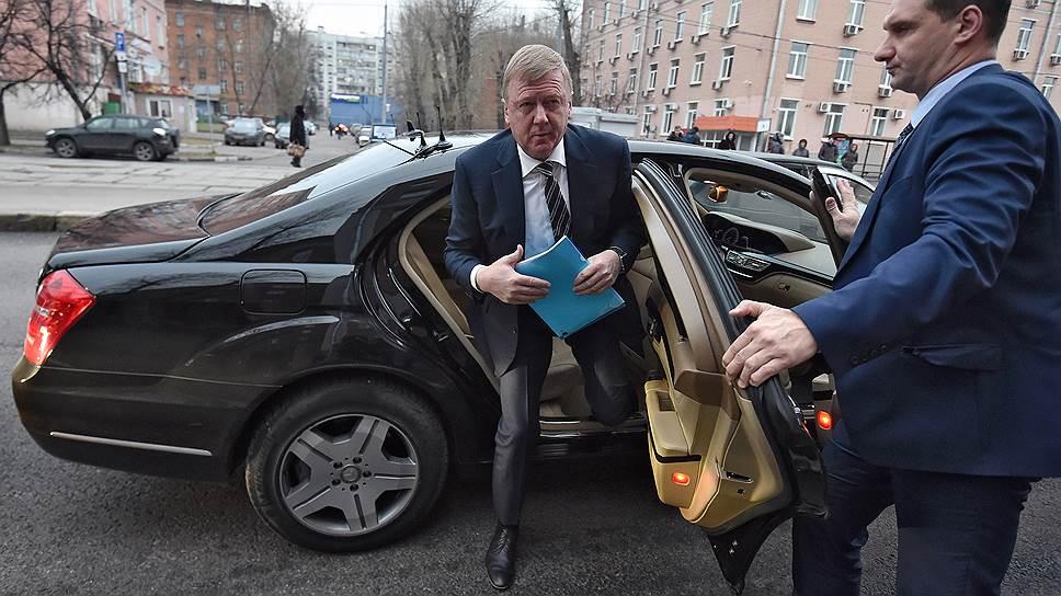 Как Анатолий Чубайс давал показания по делу Леонида Меламеда