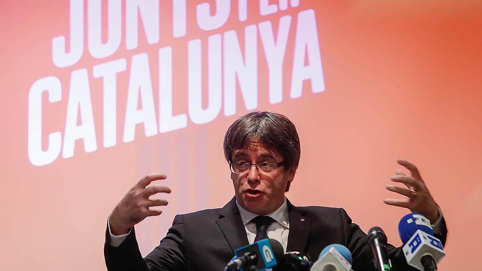 Как каталонские сепаратисты начали предвыборную гонку