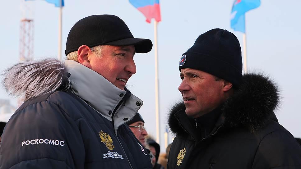 Сразу после запуска ракеты Игорь Комаров и Дмитрий Рогозин были настроены предельно оптимистично