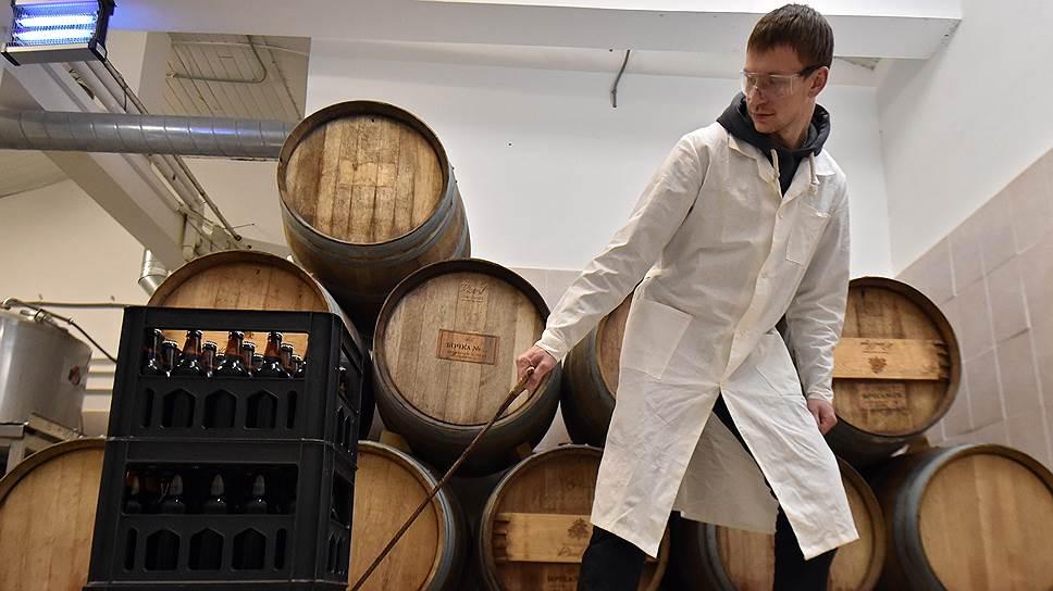 Производителей пива могут заставить использовать счетчики учета готовой продукции