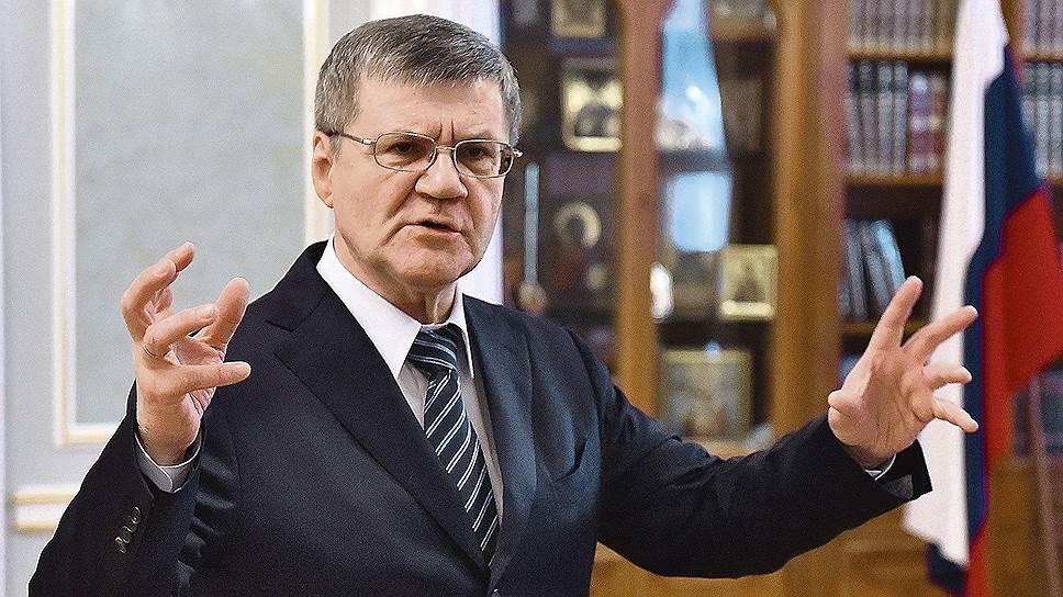 Генпрокурор Юрий Чайка о том, как надзорное ведомство противодействует коррупции