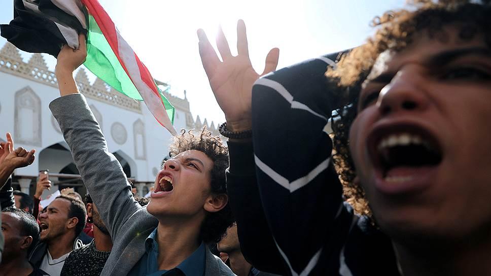 Мусульмане протестуют против переезда посольства США в Иерусалим