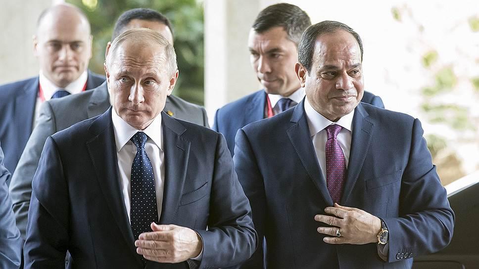 Россия даст Египту атомную энергию и туристов