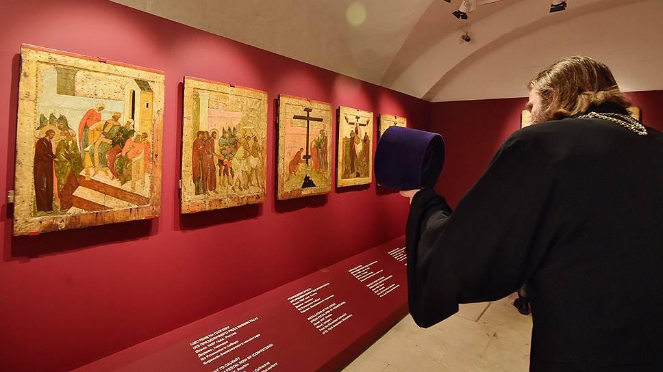 Иконы постоянной экспозиции впервые экспонируются в духе современного музейного дизайна