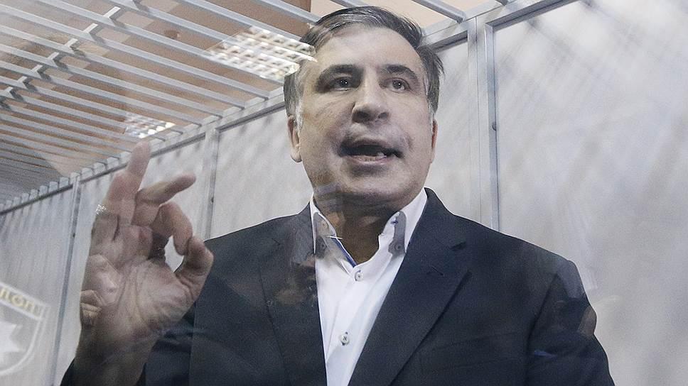 Бывший президент Грузии и бывший губернатор Одесской области Михаил Саакашвили