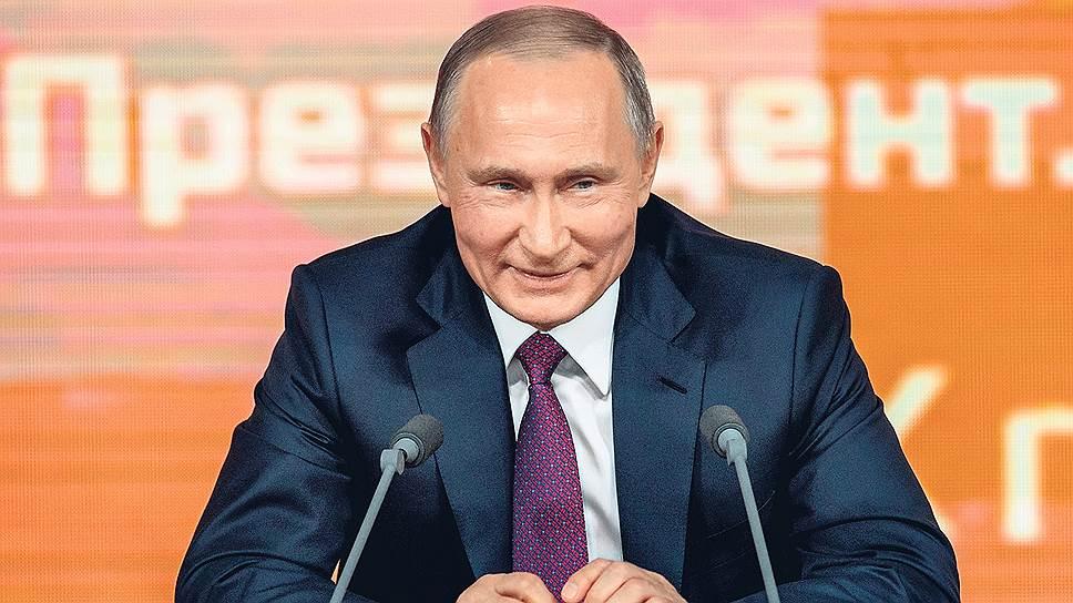 Как Владимир Путин создавал одни новости и развенчивал другие