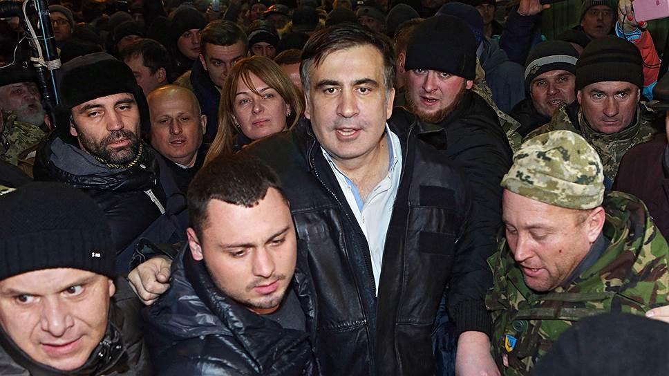 Михаил Саакашвили обещает остаться и в украинской, и в грузинской политике