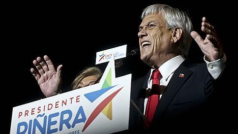 Избиратели отдали Чили в рост // Президентом во второй раз становится миллиардер Себастьян Пиньера