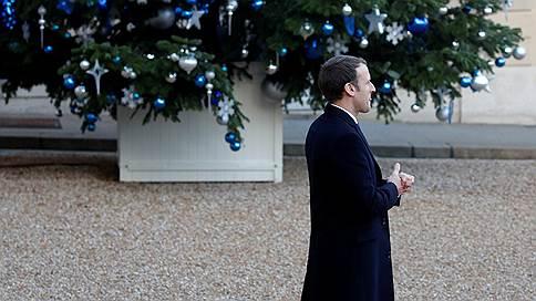 Президенту Франции положили под елку рейтинг // Борьба за власть