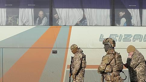 Пленные дождались свободы // Стороны конфликта в Донбассе обменялись заложниками