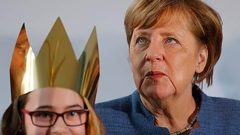 Ангела Меркель взялась за старое // Канцлер ФРГ еще рассчитывает сформировать большую коалицию