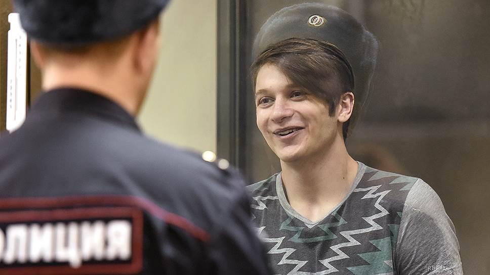 Курсант академии имени Можайского Вадим Осипов настаивает на собственной невиновности