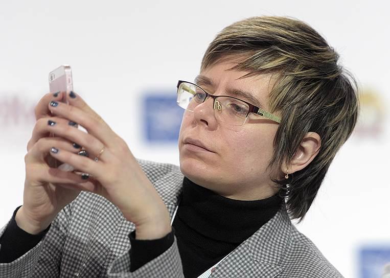 Вице-президент ЦСР Мария Шклярук