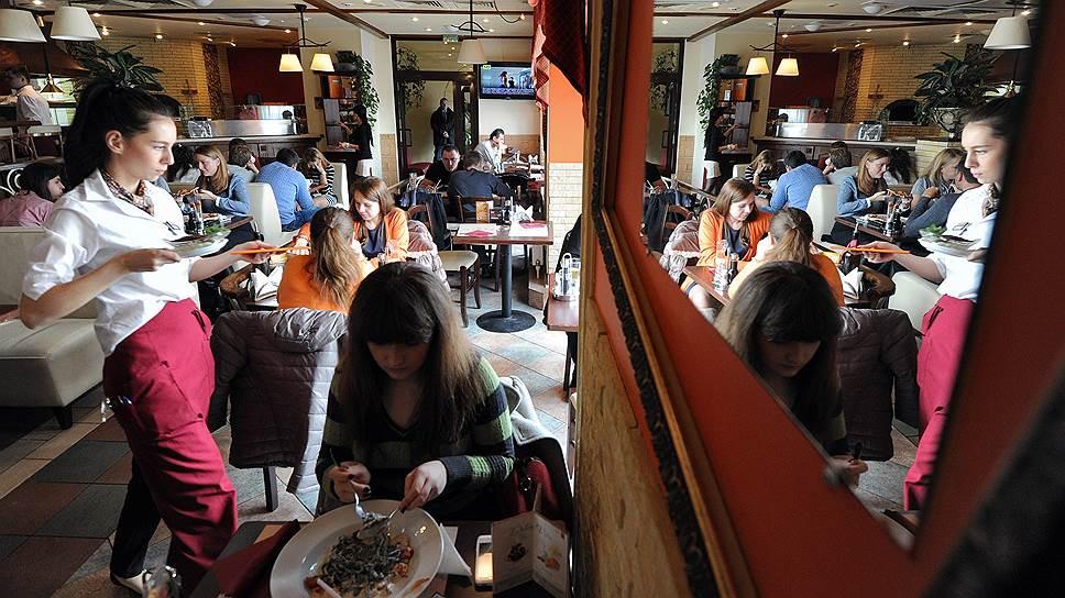 Расходы россиян на питание вне дома стали расти