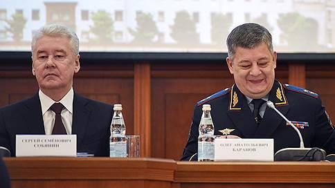 Московская полиция побила рекорд спокойствия  / Уровень преступности в столице держится ниже российского