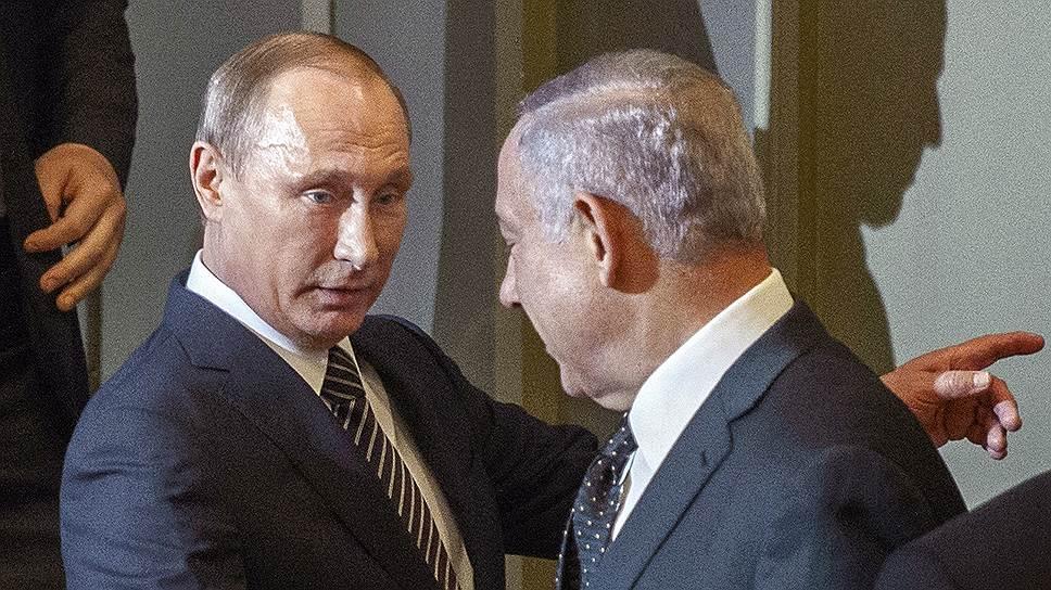 Владимир Путин и Биньямин Нетаньяху в очередной раз обсудят Иран и Сирию