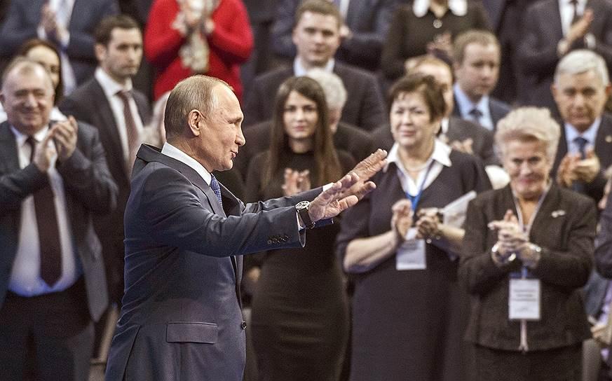 Владимир Путин завораживал окружающих