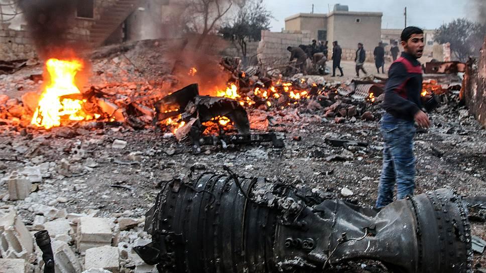 На потерю Су-25СМ ВКС России ответили ударом по позициям боевиков в провинции Идлиб