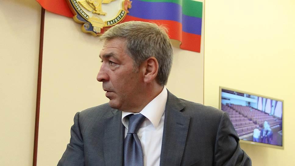 Как в Дагестане было отправлено в отставку правительство