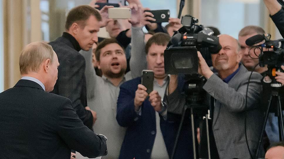 Владимир Путин может проголосовать на президентских выборах в Севастополе