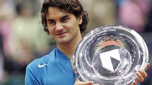 Роджер Федерер поедет на рекорд в Роттердам // 36-летний теннисист может снова стать первым в мире — и побить достижение Андре Агасси