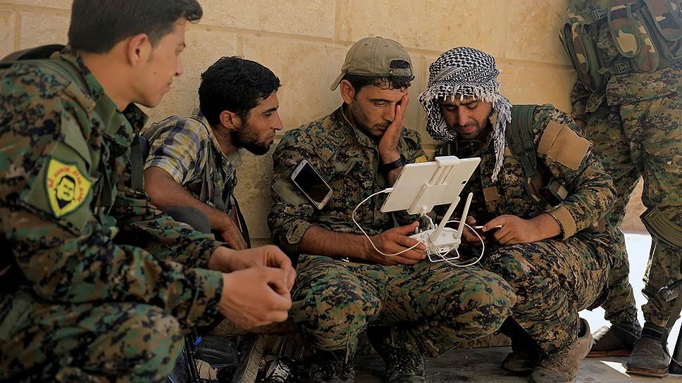 Сирийские отряды попали под недружественный огонь