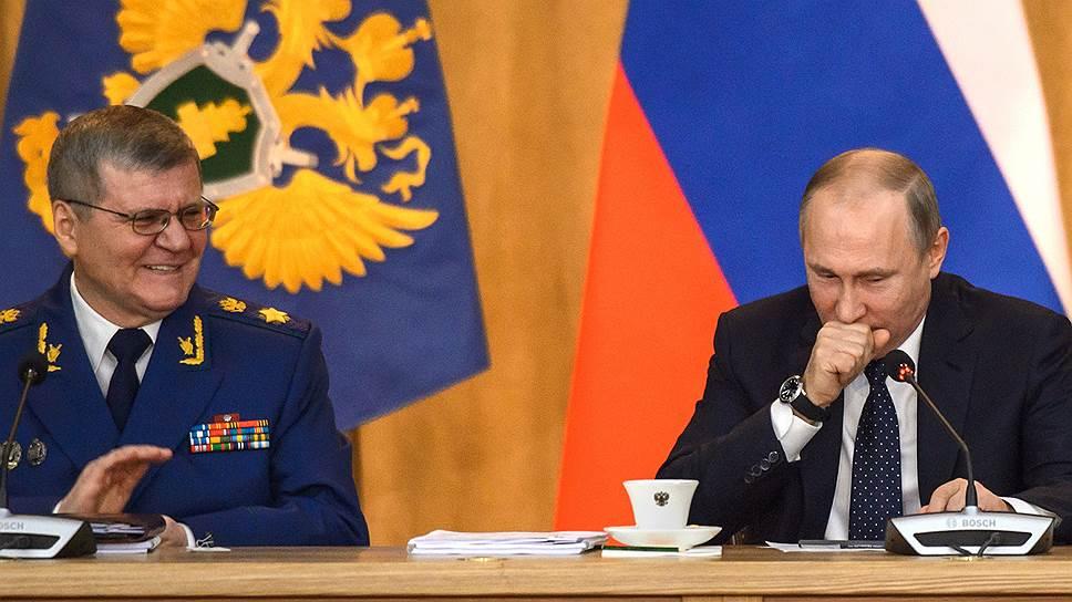 Что еще Владимир Путин потребовал от прокуроров на расширенной коллегии ведомства