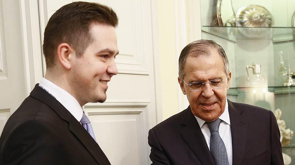 Как министры иностранных дел Сергей Лавров и Тудор Ульяновски договорились налаживать отношения