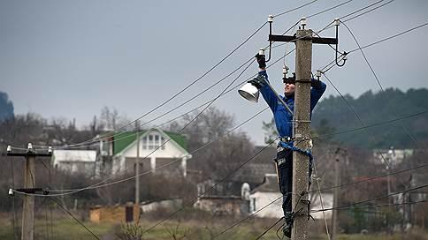 «Россети» отвязались от Крыма // Госхолдинг оставит местные сети Росимуществу