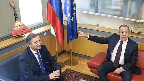 Россия и Словения продолжают взаимопамятное сотрудничество // Сергей Лавров начал визит на Балканы