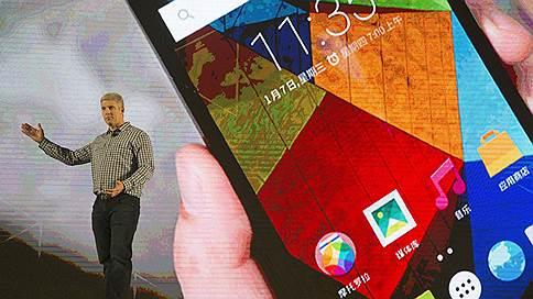 Motorola не напомнила о себе // Lenovo потеряла рыночную долю на забытом бренде