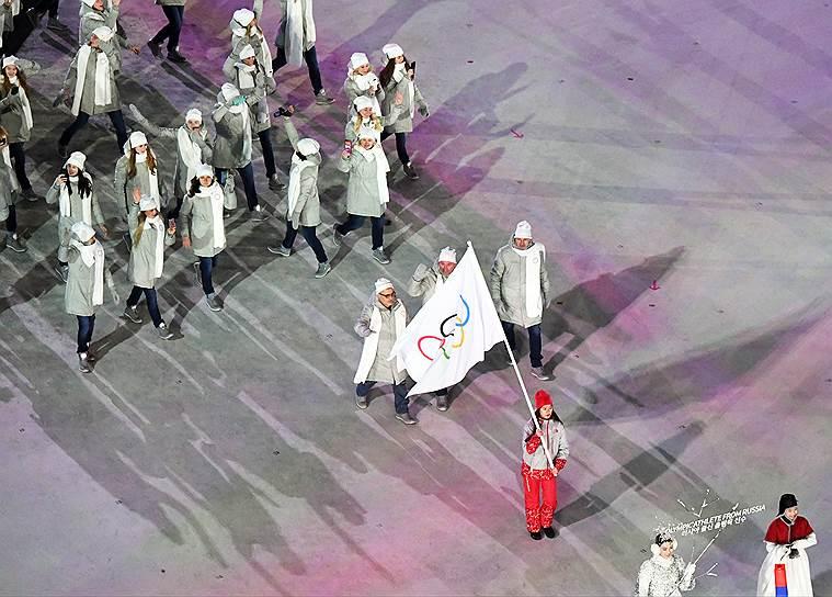 На церемонии открытия следующей Олимпиады, 2020 года в Токио, отечественная делегация пройдет не под олимпийским флагом, а под флагом Российской Федерации