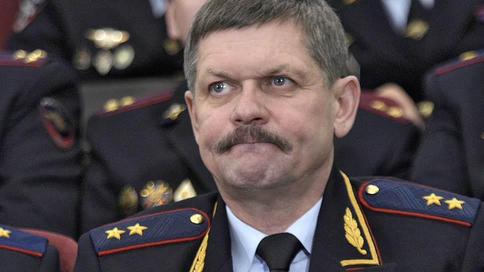 Начальник Оперативного управления МВД России Анатолий Якунин
