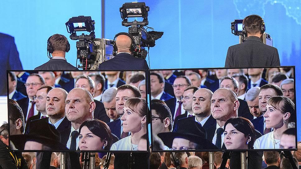 Страна замерла не только в зале, но и у телевизоров