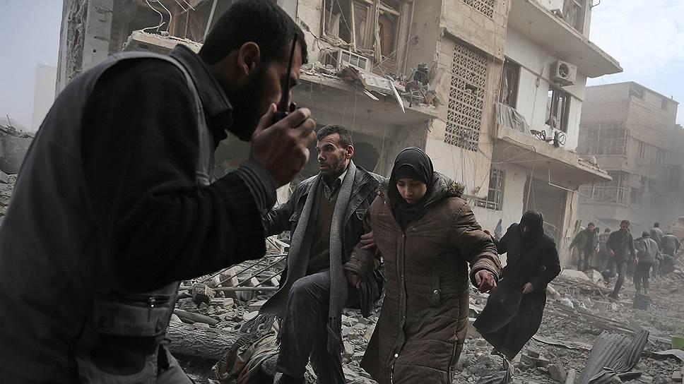 Как сирийская армия перешла в наступление в Восточной Гуте