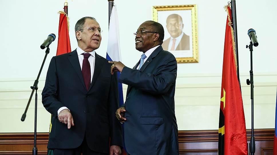Глава МИД РФ открыл африканское турне Анголой