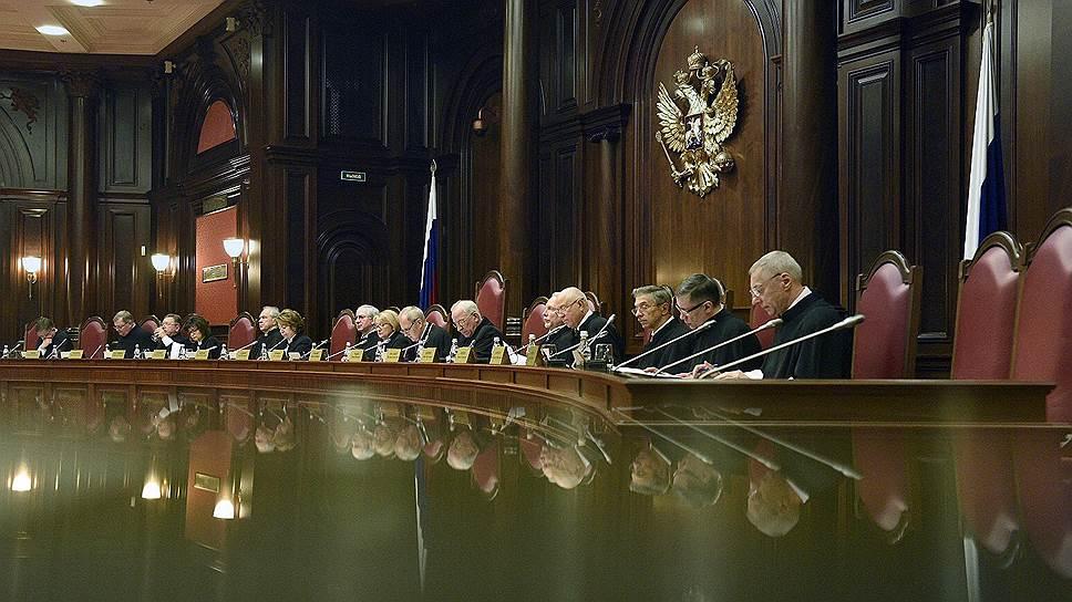 Почему крымские компании вернулись в Конституционный суд
