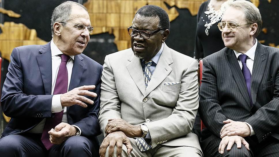 Как Сергей Лавров провел переговоры в Намибии