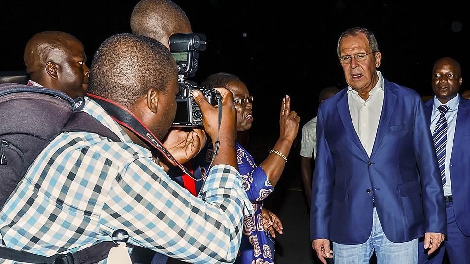 Как Россия ищет свободное место в Африке