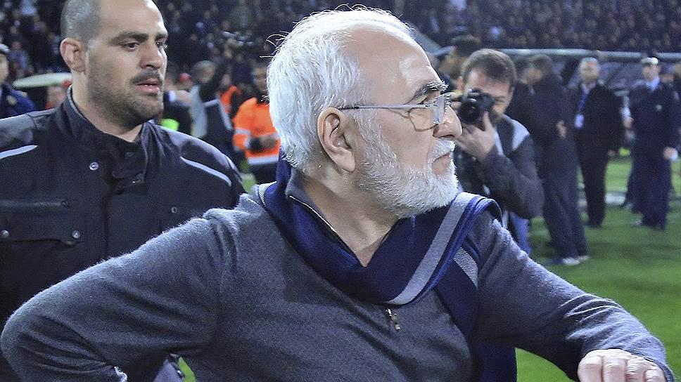 Иван Саввиди неоднократно высказывал свою позицию по связанным с футболом проблемам и позиционировал себя ярым противником любых проявлений агрессии во время матчей