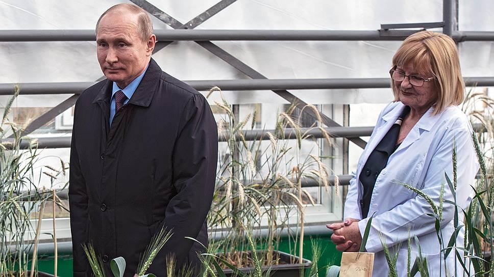 Колосуй, а то проиграешь! / Как и где Владимир Путин встретил крепких сельскохозяйственников