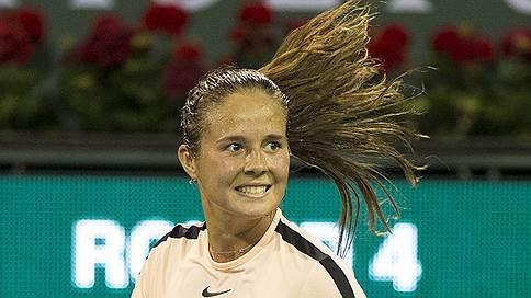 Дарья Касаткина набрала скорость // Новая первая ракетка России вышла в 1/4 финала турнира в Индиан-Уэллсе
