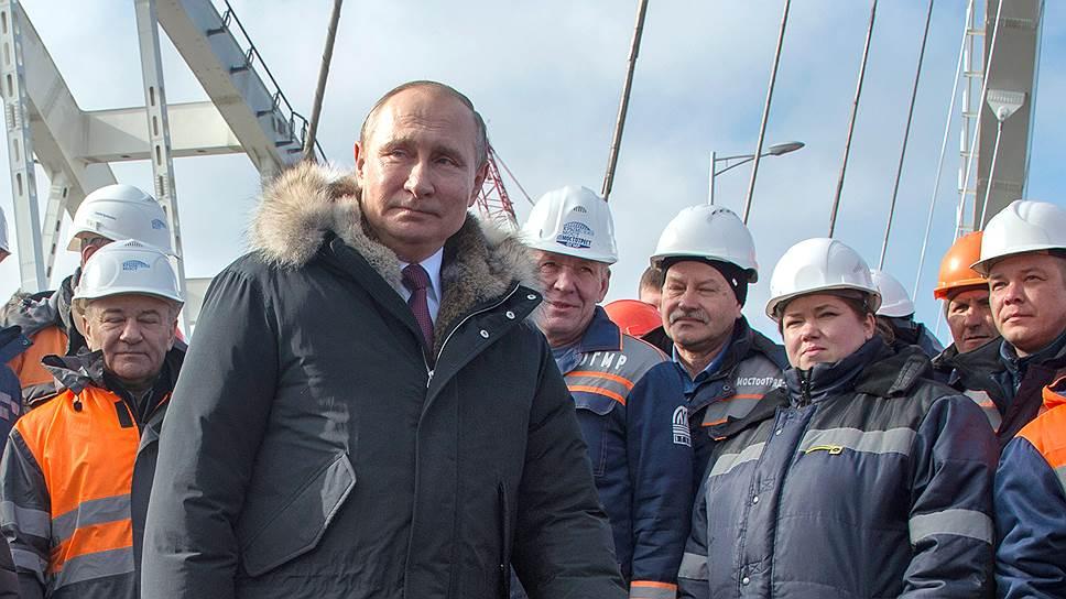 Как Владимир Путин ускорил введение в эксплуатацию Крымского моста