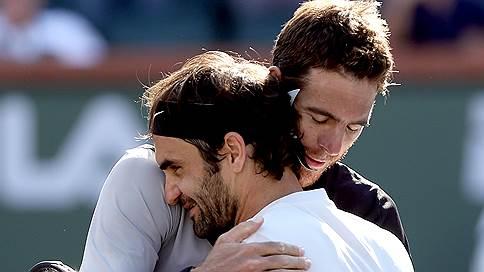 Роджер Федерер оказался на грани победы // Но проиграл Хуану Мартину дель Потро в финале турнира в Индиан-Уэллсе