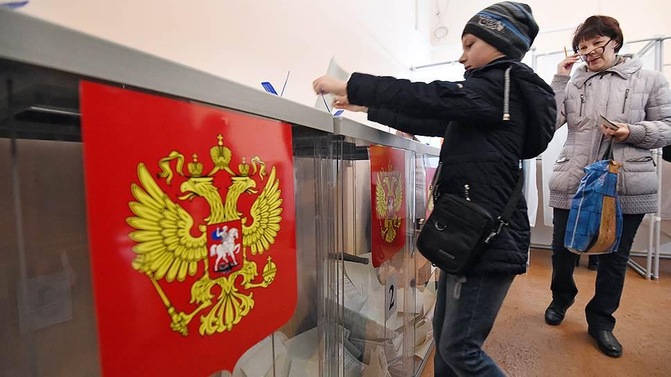 Впервые в России за кандидата в президенты проголосовало больше половины всех избирателей