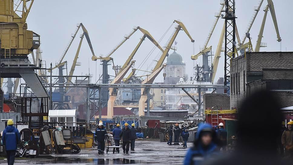 Выборгский завод срывает сроки сдачи ледоколов