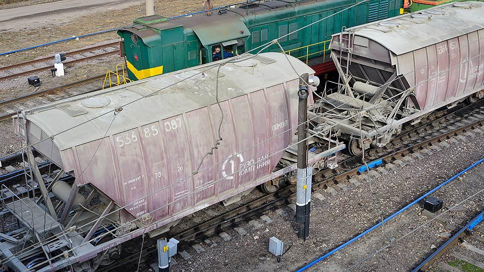 Как зерно вытеснило цемент из вагонов