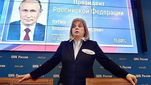 ЦИК узаконил победу Владимира Путина // Евгений Колюшин выступил с особым мнением