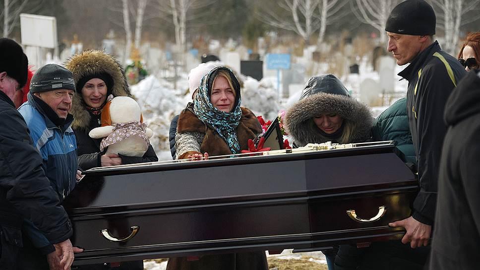 Как в Кемерово хоронили первых жертв пожара